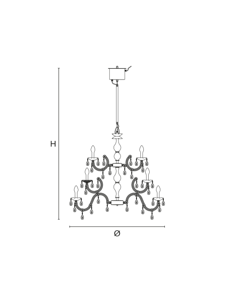 Masiero - Drylight S24 Chandelier