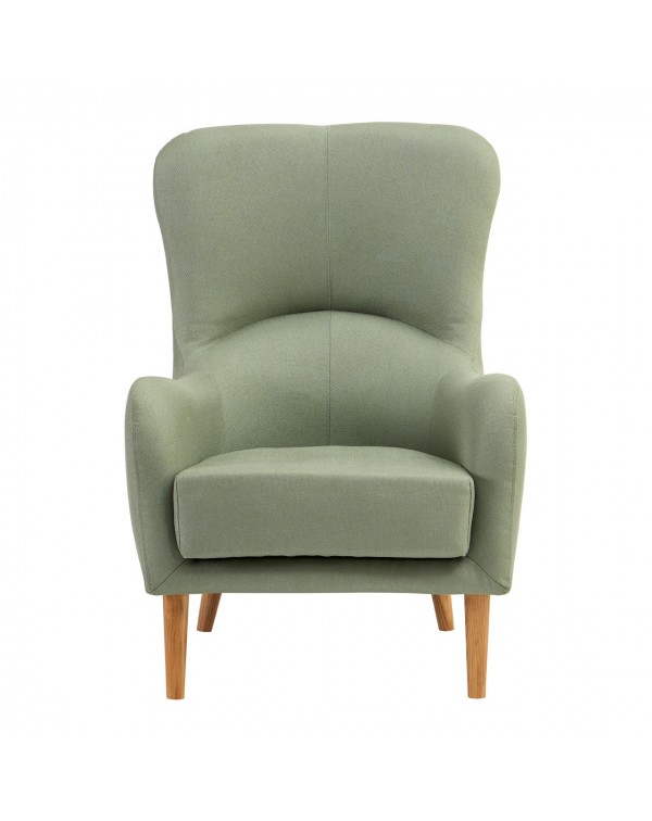 Premier Housewares  Kolding Green Fabric Chair