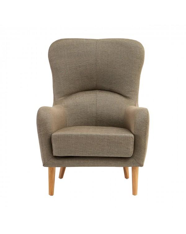 Premier Housewares  Kolding Mink Fabric Chair
