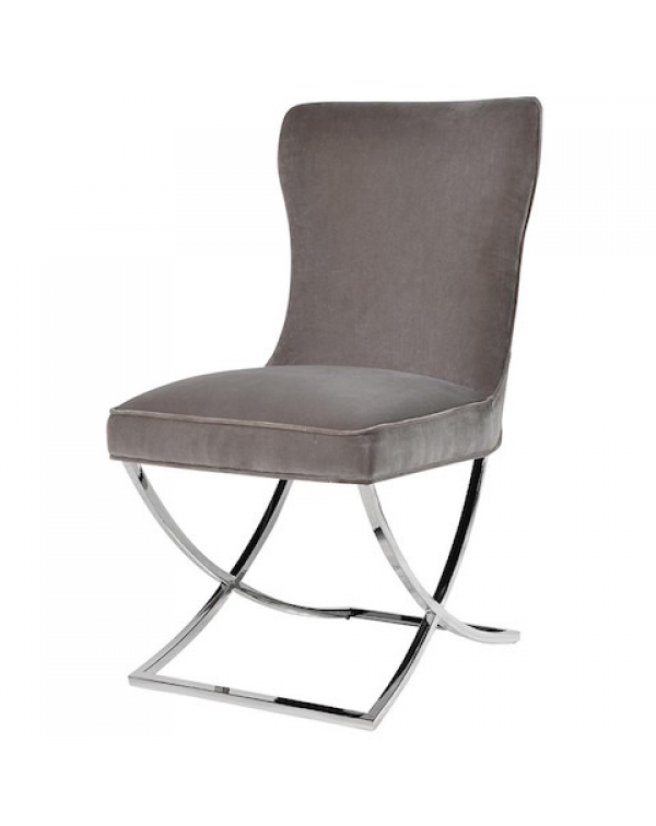 Mouse Grey Dining Chair