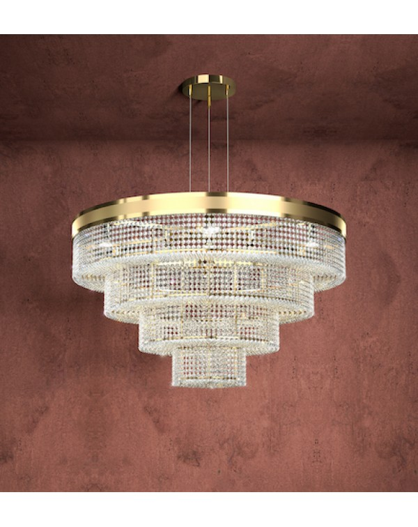 California Suspension Round Chandelier