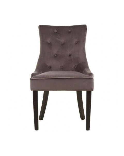 premier house wears - Daxton Grey Dining Chair - Asco Lights