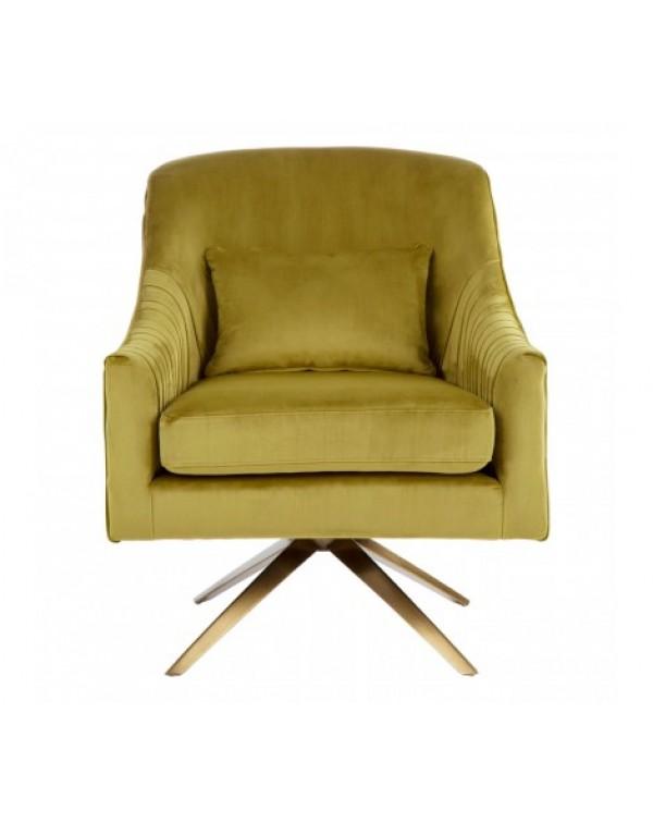 Hendricks Pistachio Velvet Chair -Hendricks Pistac...