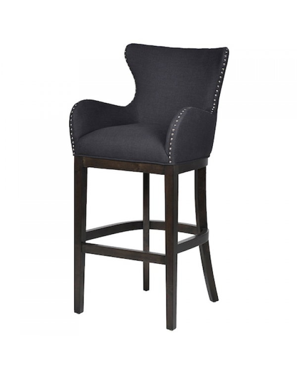 Black Shaped Bar stool