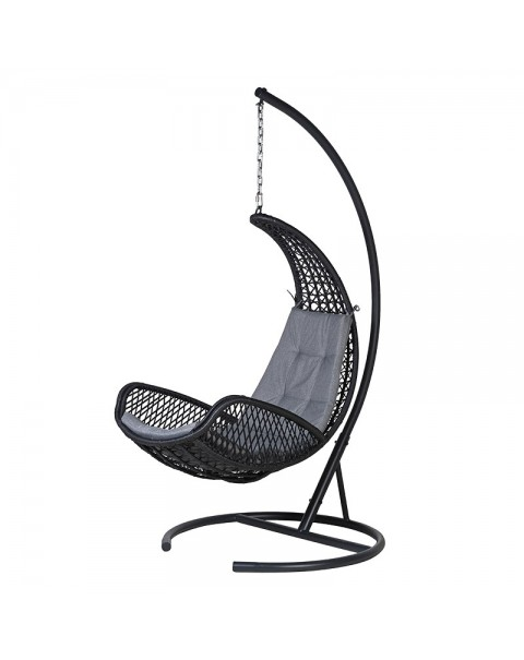 Steel  Rattan  Swing Chair - Asco Lights