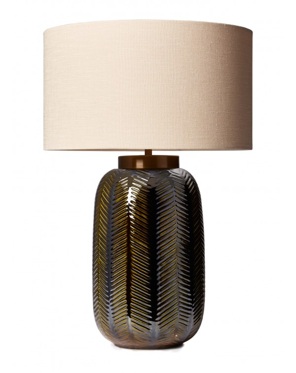 Heathfield The Fern ceramic table lamp