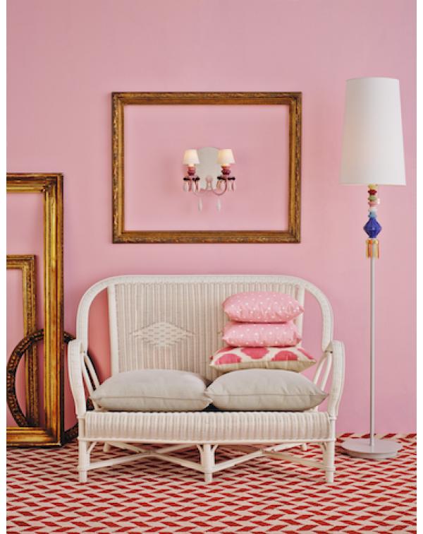 Lladro - Belle de Nuit Floor Lamp I Multicolor