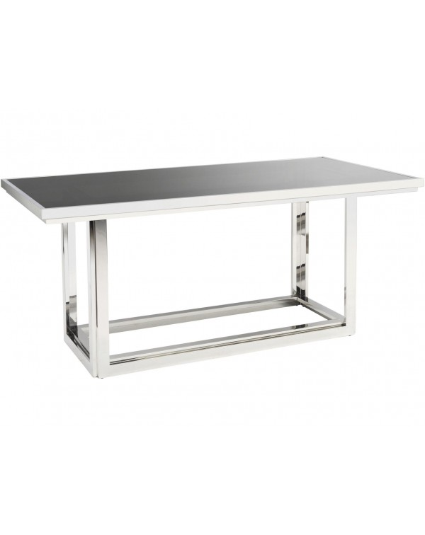 Libra Gastby Rectangular Stainless Dining Table