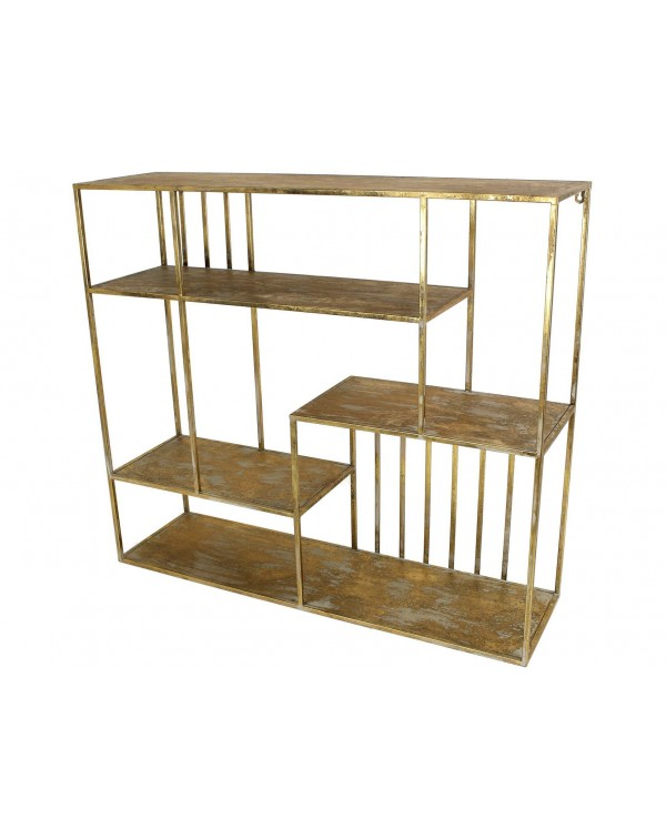 Libra Cohan Shelving Unit In Black