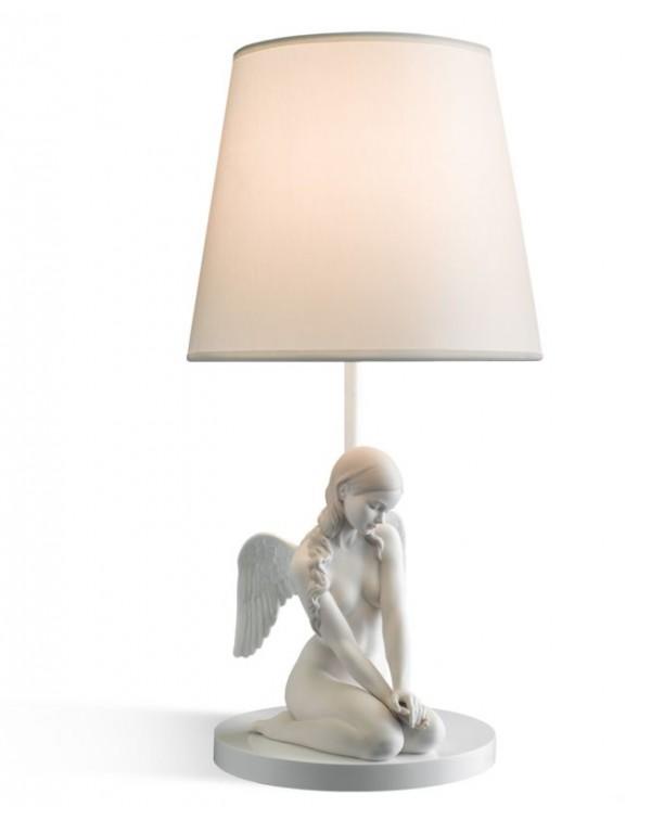 Lladro - Beautiful Angel Table Lamp