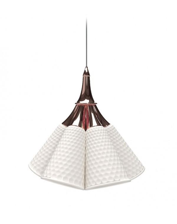 Lladro Jamz Hanging Lamp.Copper