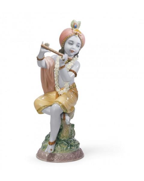 Lladro Lord Krishna Figurine