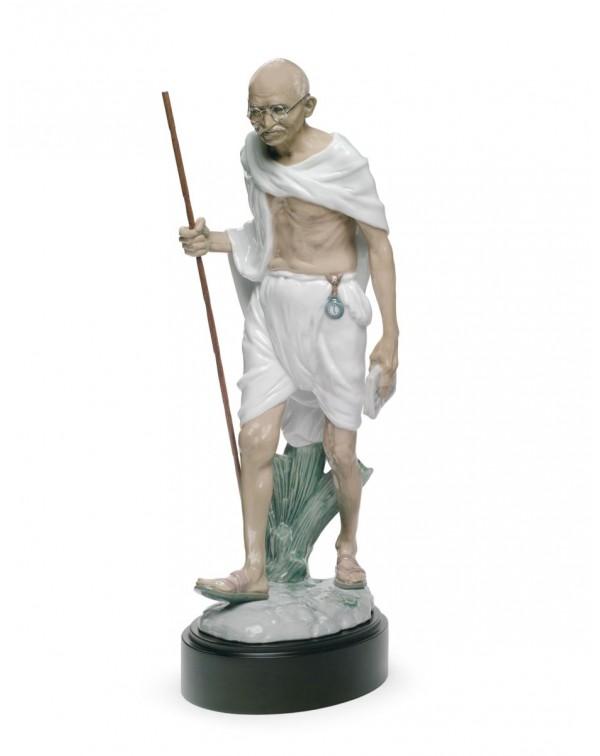 Lladro Mahatma Gandhi Figurine
