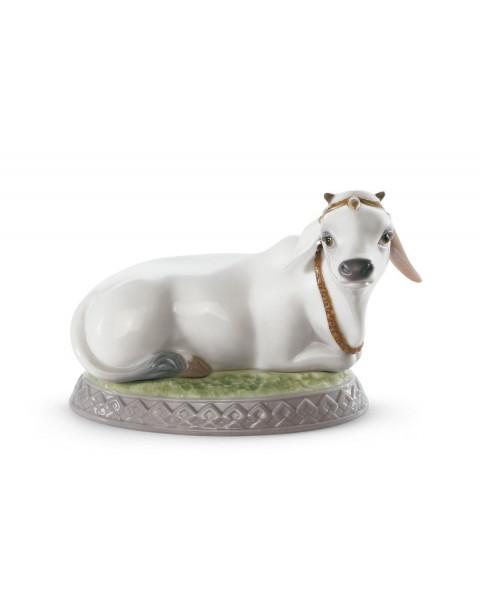 Lladro Sacred Cow Figurine