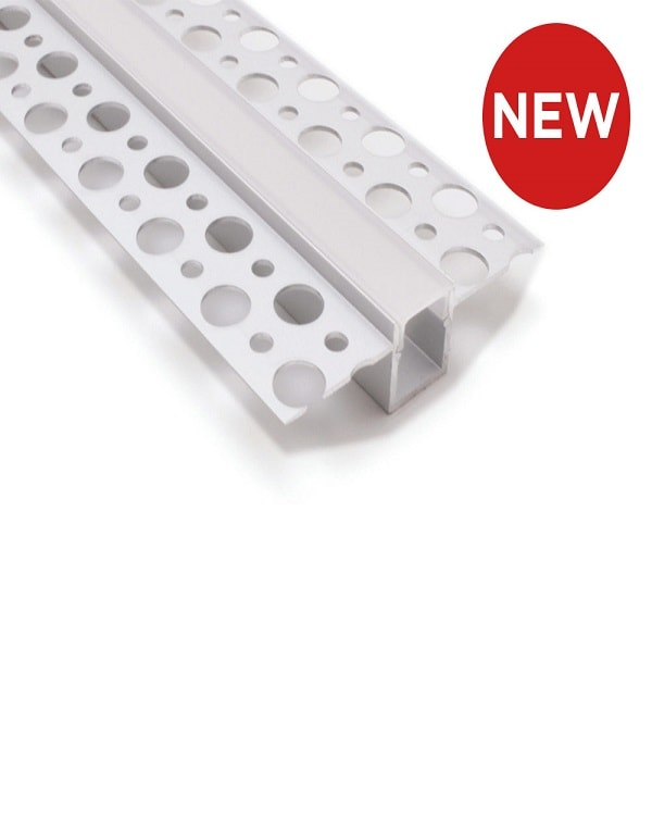 Plasterboard Flush Mounted Aluminium LED Profile
