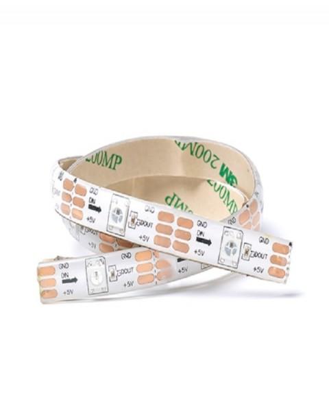 5v RGBW Single LED Addressable Strip PU Coated