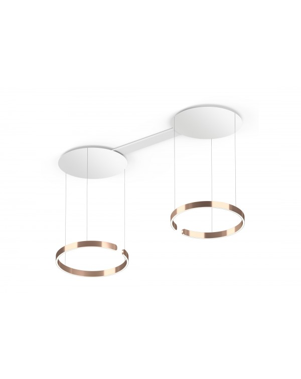 Mito - Suspended Duo White Ceiling 40cm