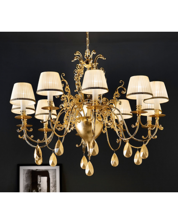 Masiero - Belle Epoke 10 Chandelier Light