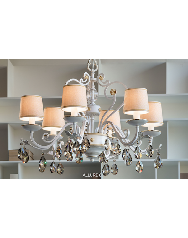 Masiero - Allure 6 Chandelier