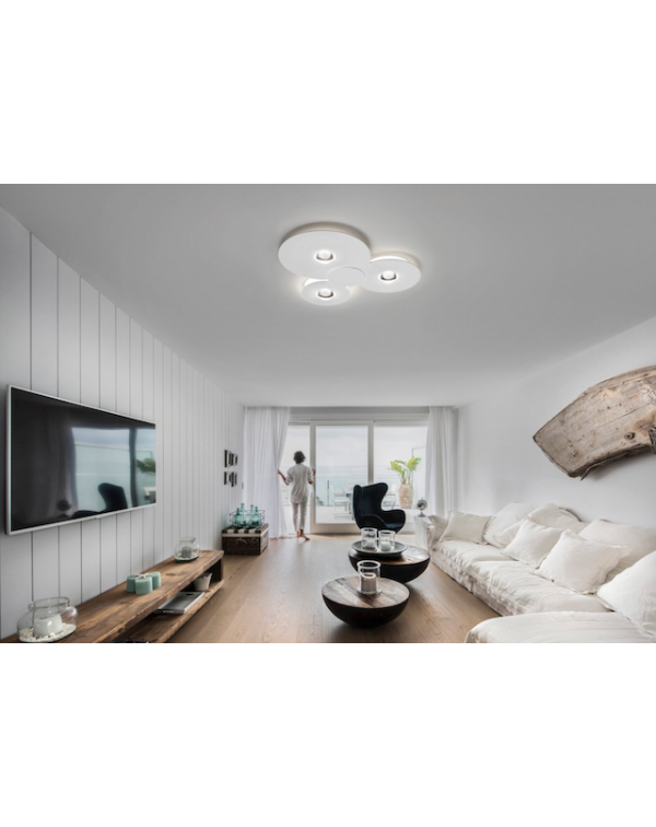 Studio Italia Bugia  Triple Ceiling Light