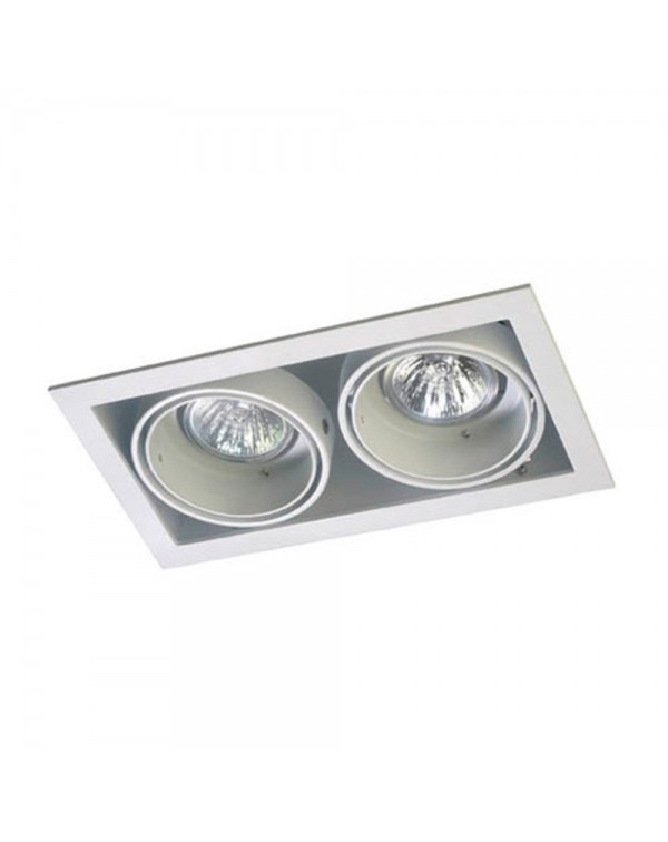 Multidir 1 Double Recessed Downlight