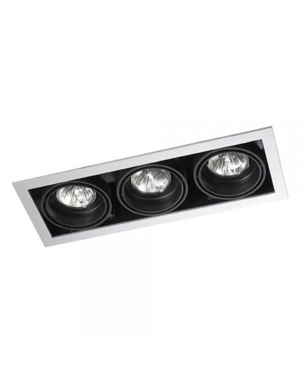 Multidir 1 Triple Recessed Downlight
