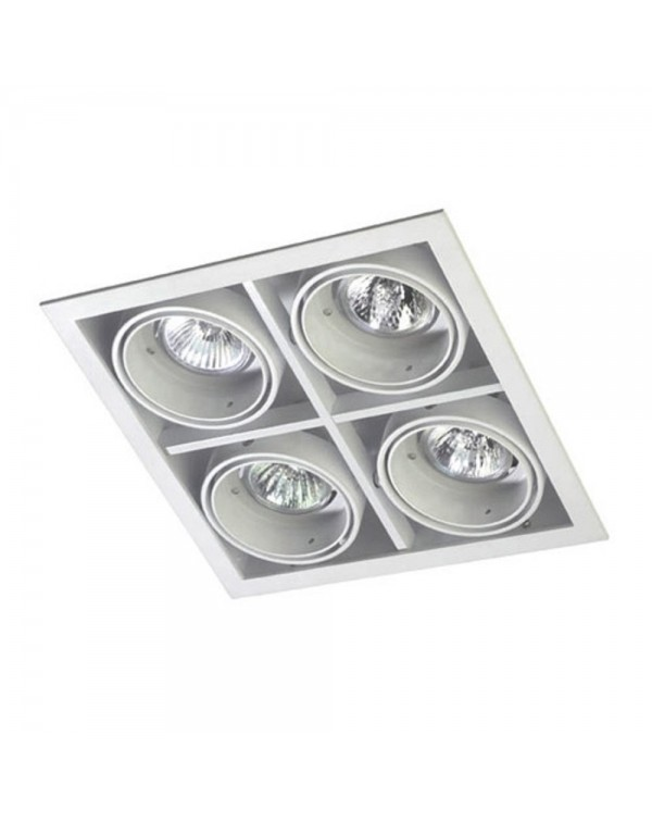 Multidir 1 Quadruple Recessed Downlight