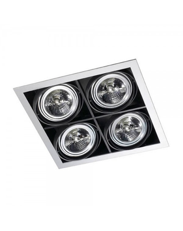 Multidir Quadruple Recessed Downlight