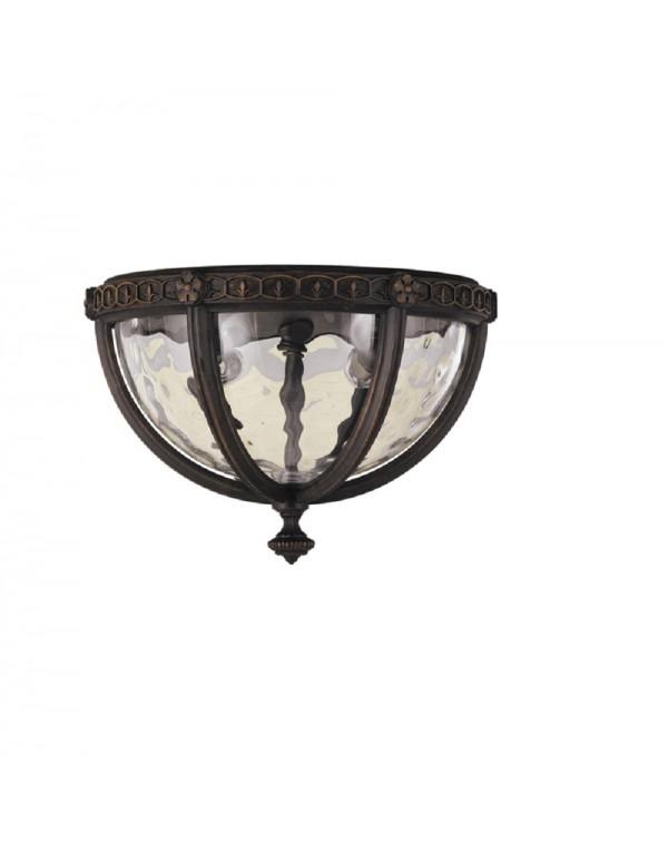 Regent Court Flush Lantern Wall Light