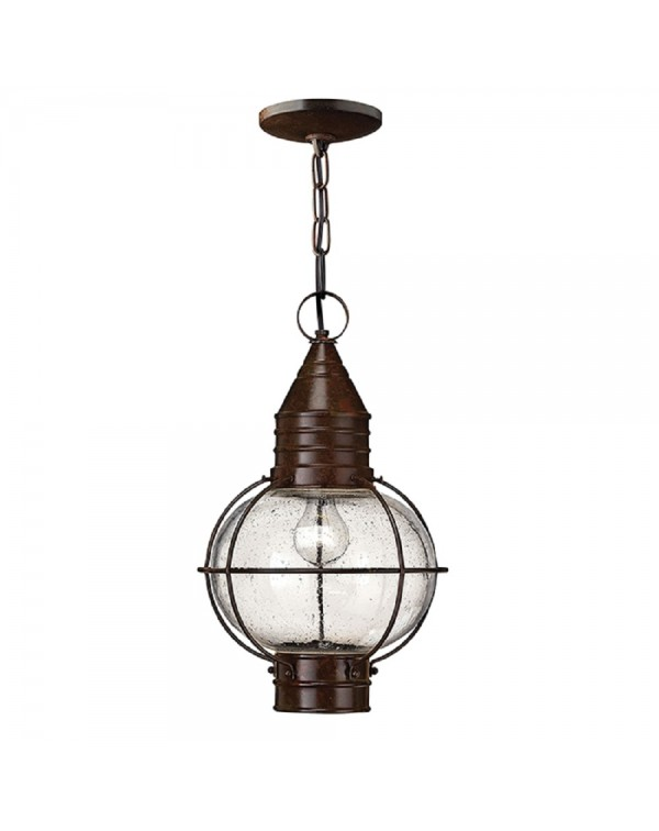 Capecod 1Lt Chain/Flush Lantern Ceiling Light