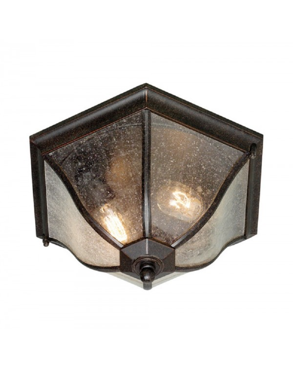 New England Flush Lantern Ceiling Light
