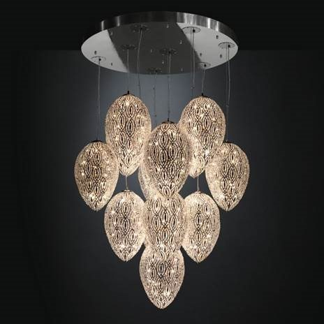 VG New trend arabesque collection Asco Lights. Crystal lighting chrome lighting hanging pendant chandelier