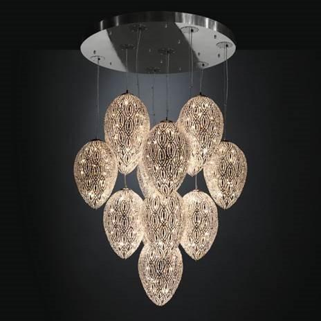 VG New trend arabesque collection Asco Lights. Crystal lighting chrome lighting hanging pendant chandelier