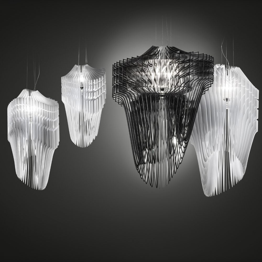Slamp Lighting Asco Lights Aria light Zaha Hadid