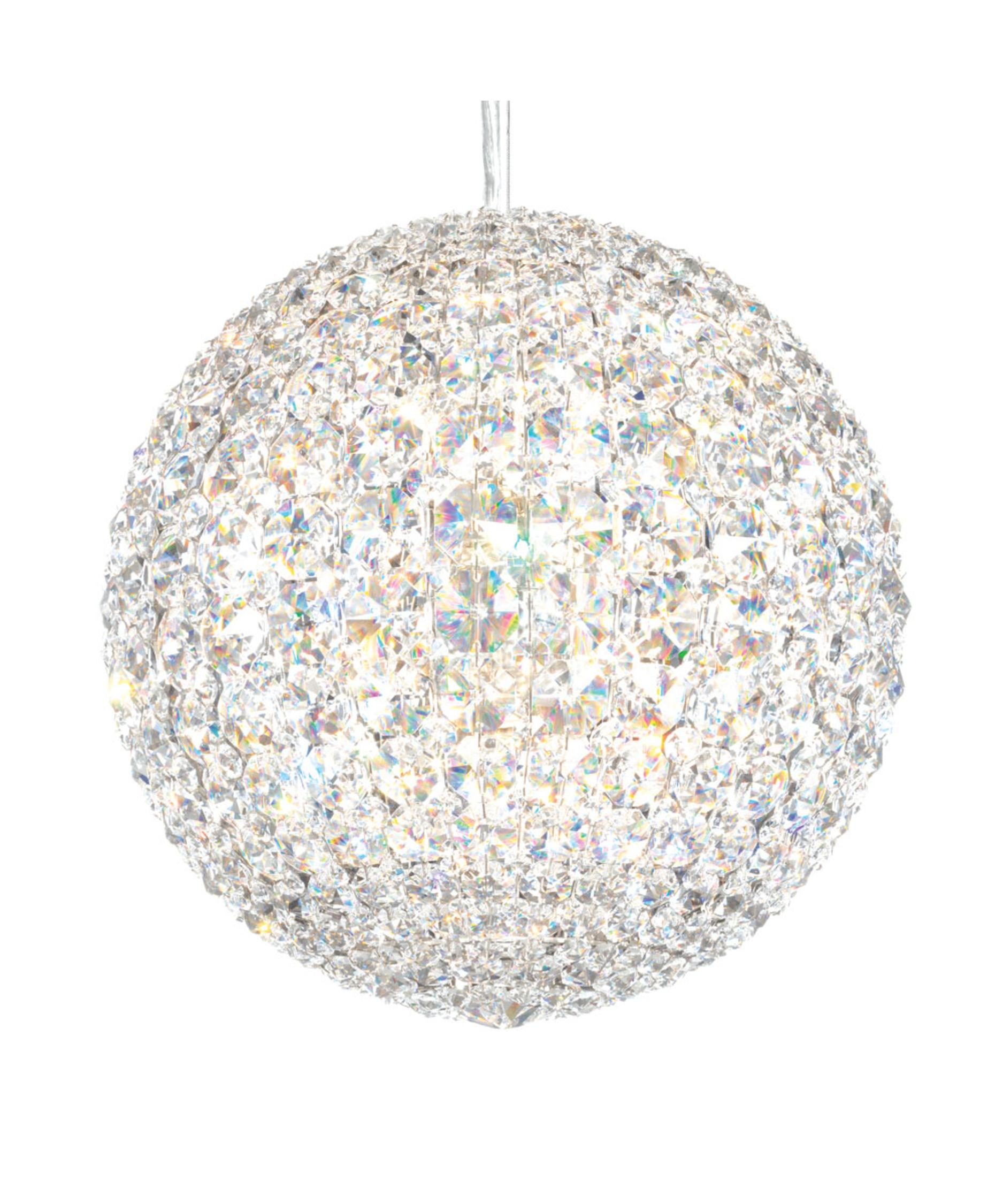 Geometrix by Schonbek Lighting Crystal Pendant Asco Lights