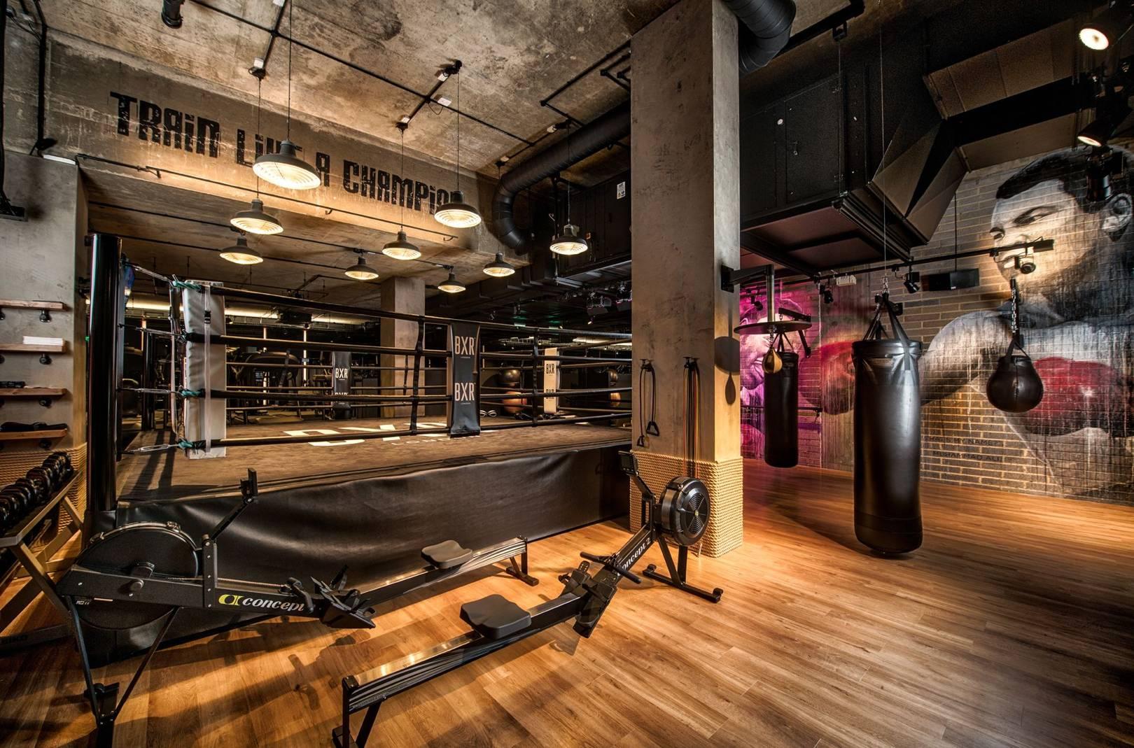 Gym lighting bespoke lighting design asco lights