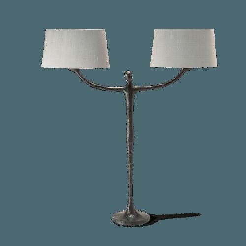 Porta Romana Lighting Table Bronzed Man Lamp Asco Lights