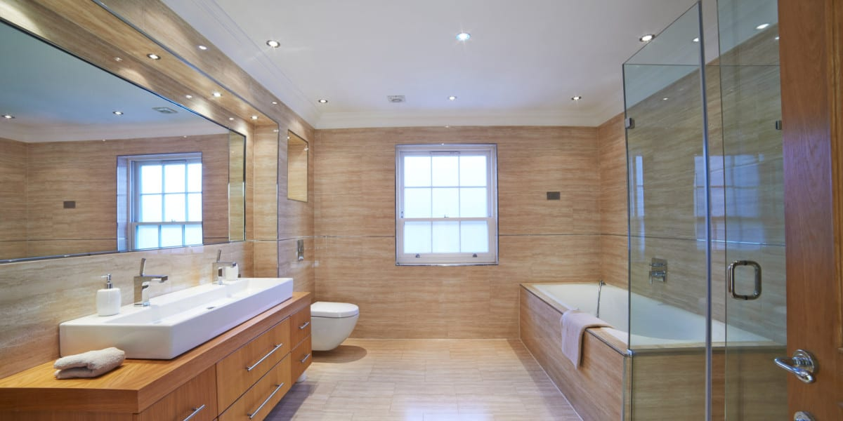 full bathroom lights image