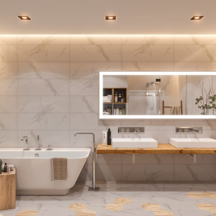 bathroom lights image