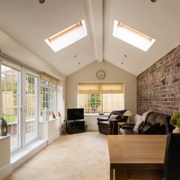 conservatory light and airy