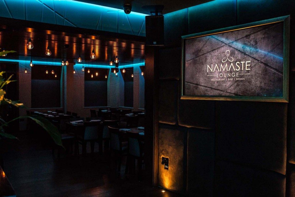 Namaste Lounge, London Contemporary Meets Retro