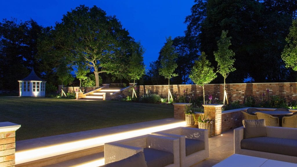 outdoor lighting for garden