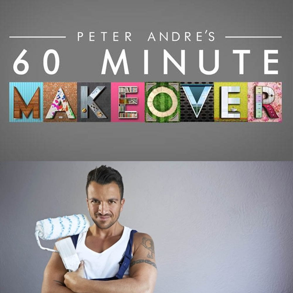 peter andre's 60 minute makeover ITV Asco Lights